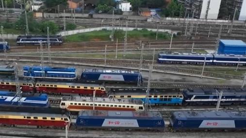 焦柳鐵路將全線實現電氣化運營