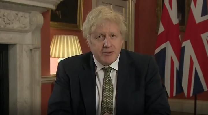 英國首相宣布第三次全境封鎖 從5日起到2月中旬實施最嚴格管控