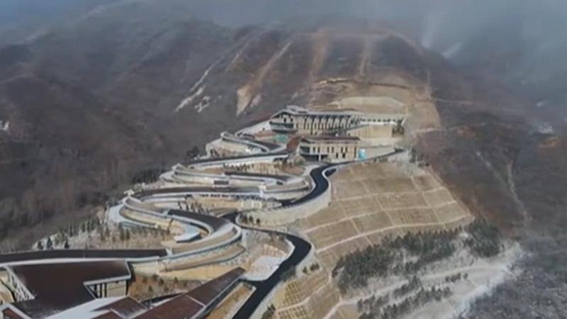 冬奧場館順利建設 冰雪運動不斷升溫