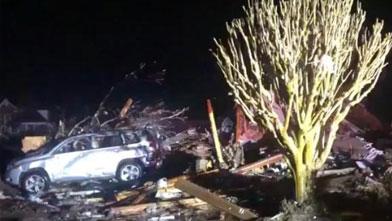 美國北卡羅來納州遭遇龍卷風 至少3死10傷