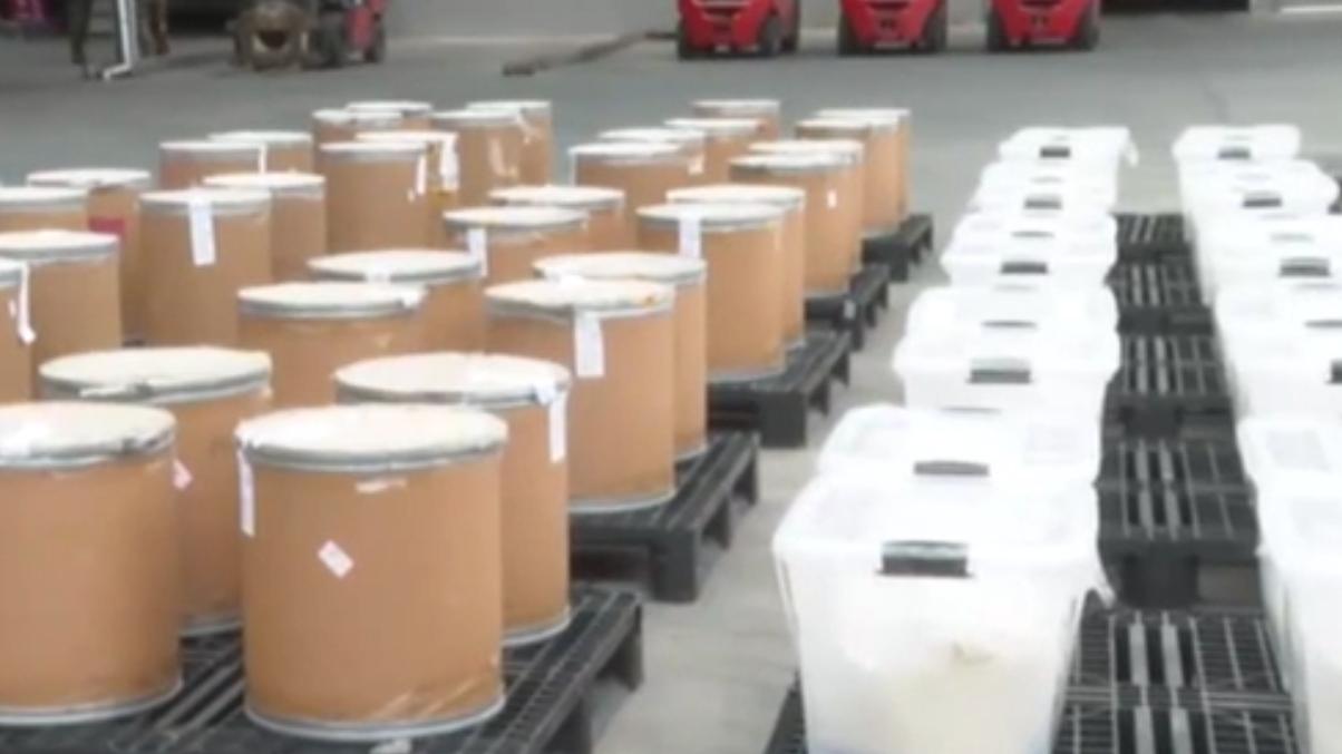 福建:海警集中銷毀制毒物品1435公斤