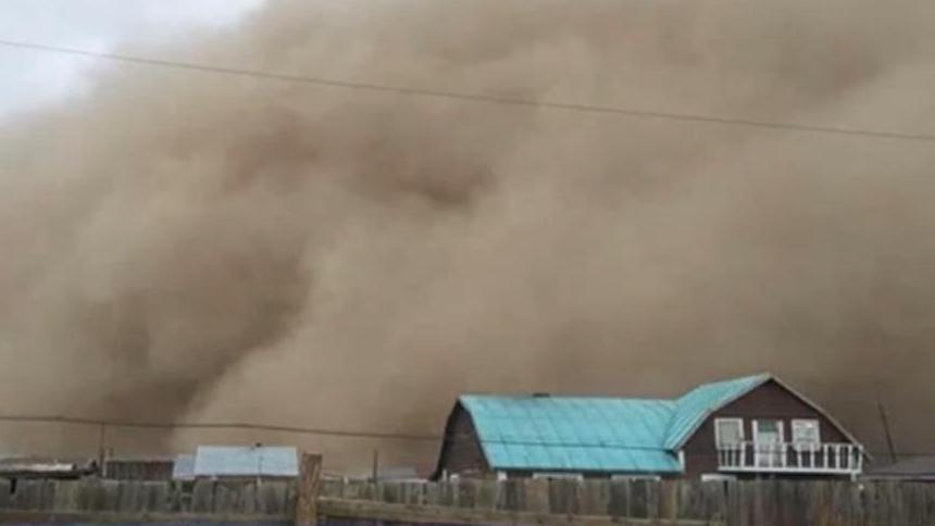 蒙古國:特大沙塵暴已致10人死亡 1人失蹤