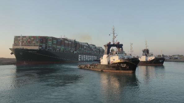 埃及:蘇伊士運河管理局表示——就貨船擱淺事故索賠金額將達10億美元