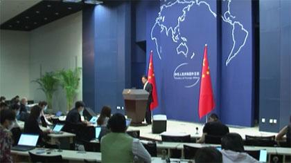 中國外交部:美方完全站在了人類良知、道義的對立面