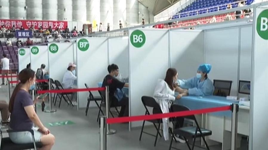 遼寧沈陽:疫苗日最大接種能力提升至25萬劑