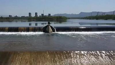 北京:潮白河生態補水20天已累計放水1.1億方