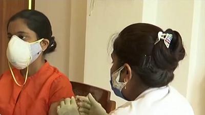 印度:日增確診病例減少 疫苗短缺難題未解
