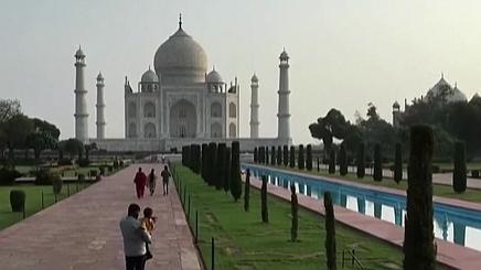 時隔兩個月 印度泰姬陵重新開放