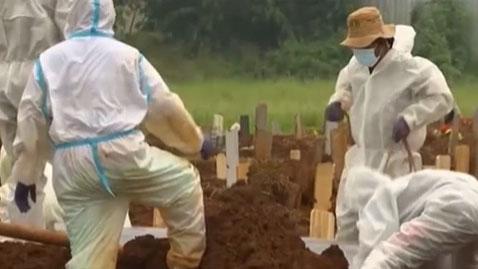 印尼:連續3天日增新冠肺炎確診超2萬例