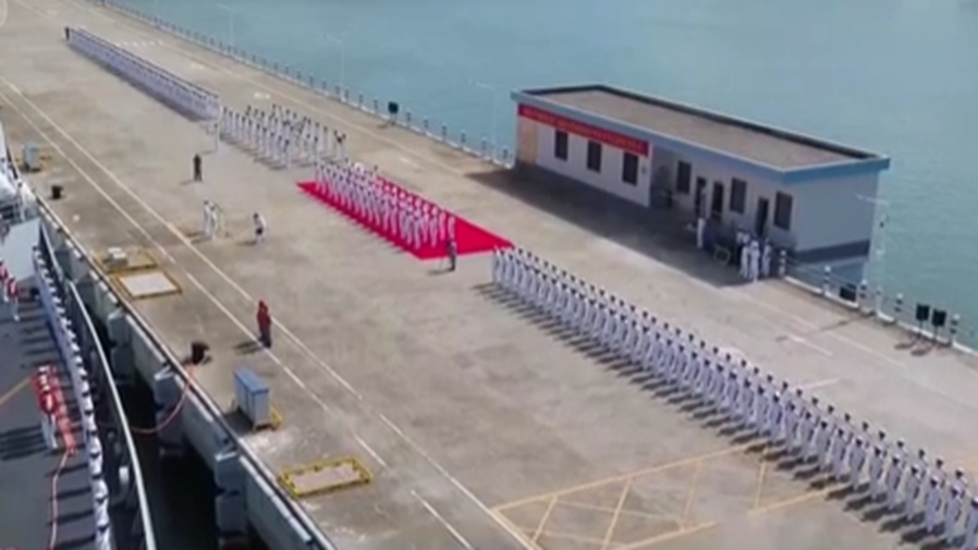 海軍第37批護航編隊完成任務回國