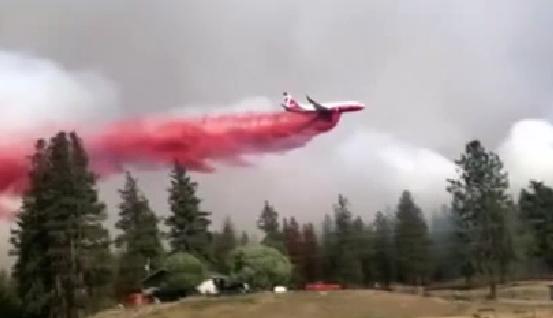 美國:山火持續蔓延 多州進入緊急狀態
