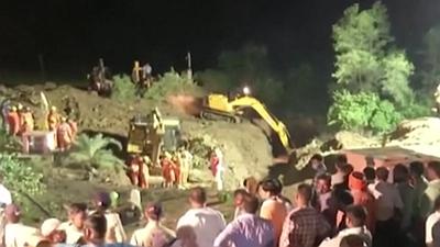 印度:中央邦一水井井口塌陷致11人死亡