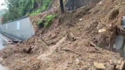 河南鞏義:米河鎮受災嚴重 記者現場探訪
