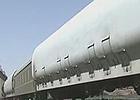 神十火箭運抵酒泉衛星發射中心