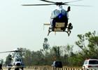 廣東上千警力掃毒 直升機清剿堡壘村