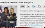 美媒稱:米歇爾·奧巴馬將在美劇中客串