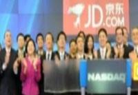 京東上市首日漲10% 市值達286億美元