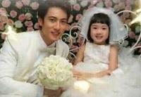 吳尊帶女兒neinei拍婚紗照甜蜜秀父愛