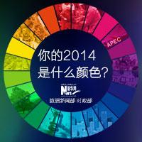 你的2014是什麼顏色?