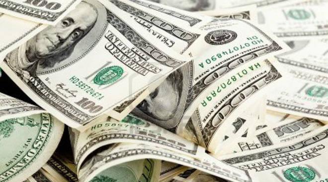 12月外匯儲備大降1079億美元