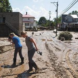 [新华要闻]美西弗吉尼亚州洪灾百年不遇