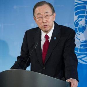 潘基文欢迎利比里亚从联合国接管安全职责