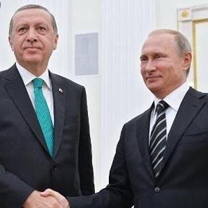 普京与埃尔多安通话谈修好