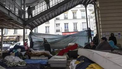巴黎將在市區建兩座難民營