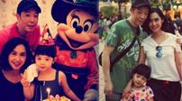 朱茵罕有曬家庭照 女兒4歲生日顏值高