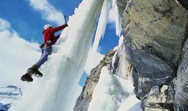 想爬瀑布嗎?一起來攀冰!