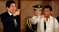 安倍與杜特爾特會談 宣布援菲1萬億日元