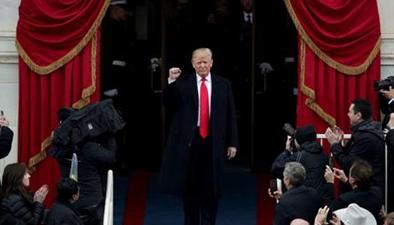 美國:特朗普宣誓就任美國總統