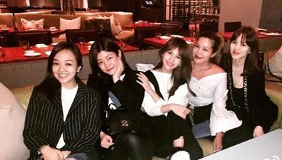 陳妍希産後與閨蜜派對盡顯少女風