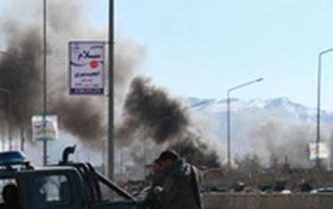 阿富汗:首都連環爆炸 16人死亡59人受傷