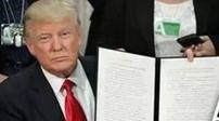"""美國:特朗普政府公布新版""""入境限制令"""""""
