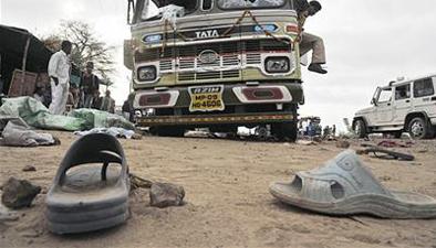海地:公共汽車衝入人群 致34人死