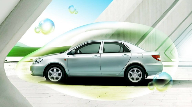 綠色中國尋路新能源汽車産業