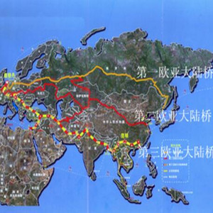 中哈有望打通第三條歐亞大陸橋