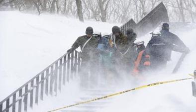 日本一滑雪場發生雪崩 8人恐遇難