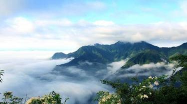 廬山現壯麗雲海景觀