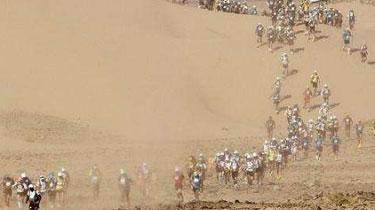 """走起!極限挑戰 """"世界最恐怖馬拉松""""撒哈拉沙漠開賽"""