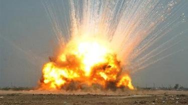 """美公布""""炸彈之母""""爆炸畫面"""
