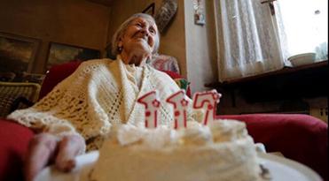 意大利最長壽老人逝世 享年117歲