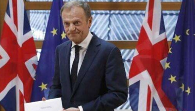 """歐盟27國達成與英國""""脫歐""""談判指導方針"""