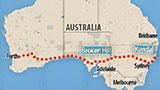 12歲男孩偷開汽車橫穿澳大利亞