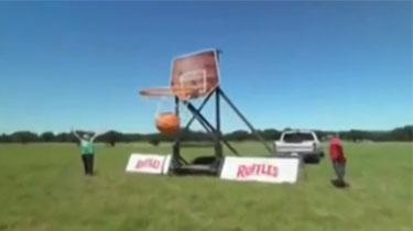 巨型籃球 花式投籃