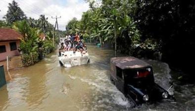 斯裏蘭卡:洪水和山體滑坡已致202人死亡
