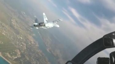 俄戰機波羅的海上空攔截美偵察機