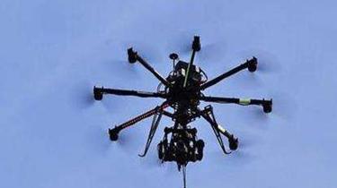 """瑞典:""""蜘蛛""""無人機 360度隨意飛"""