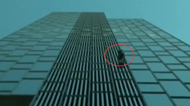 """法國""""蜘蛛人""""徒手攀登巴塞羅那高樓"""
